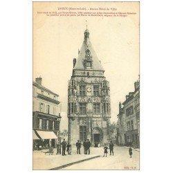 carte postale ancienne 28 DREUX. Ancien Hôtel de Ville 1910