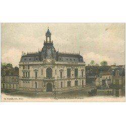 carte postale ancienne 28 DREUX. Caisse d'Epargne 1904