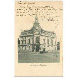 carte postale ancienne 28 DREUX. Caisse d'Epargne 1904. Ed BF Paris (défauts)...