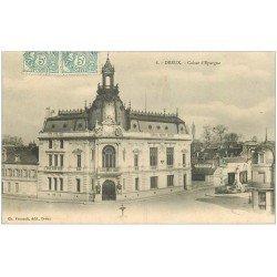 carte postale ancienne 28 DREUX. Caisse d'Epargne 1905 n° 6
