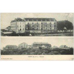 carte postale ancienne 28 DREUX. Caserne vers 1918