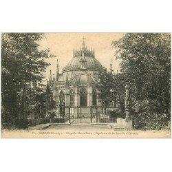 carte postale ancienne 28 DREUX. Chapelle Saint-Louis