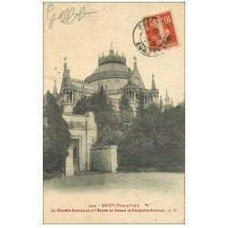 carte postale ancienne 28 DREUX. Chapelle Saint-Louis Caveau Penthièvre-Bourbon 1912