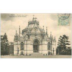 carte postale ancienne 28 DREUX. Chapelle Saint-Louis Sépulture 1906