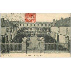 carte postale ancienne 28 DREUX. Collège Rotrou 1915