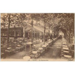 carte postale ancienne 03 VICHY. La Restauration 1923