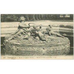 carte postale ancienne 28 NOGENT-LE-ROTROU. Bassin des Quatre-Saisons
