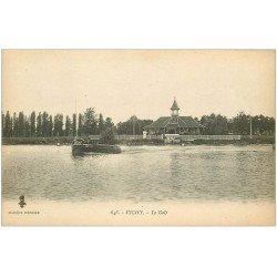 carte postale ancienne 03 VICHY. Le Canot à moteur du Golf