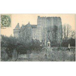 carte postale ancienne 28 NOGENT-LE-ROTROU. Château de Saint-Jean 1906