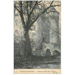 carte postale ancienne 28 NOGENT-LE-ROTROU. Château de Saint-Jean l'Entrée