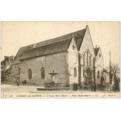 carte postale ancienne 28 NOGENT-LE-ROTROU. Eglise Notre-Dame