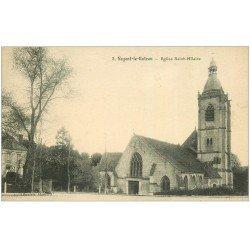 carte postale ancienne 28 NOGENT-LE-ROTROU. Eglise Saint-Hilaire 3