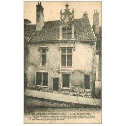 carte postale ancienne 28 NOGENT-LE-ROTROU. Hôtel 3 rue Bourg-le-Comte vers 1924