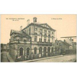 carte postale ancienne 28 NOGENT-LE-ROTROU. Hôtel de Ville