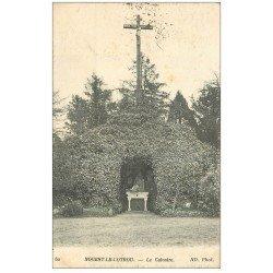 carte postale ancienne 28 NOGENT-LE-ROTROU. Le Calvaire 1916