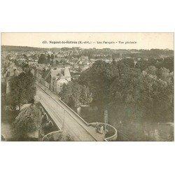 carte postale ancienne 28 NOGENT-LE-ROTROU. Les Parapets