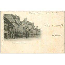carte postale ancienne 28 NOGENT-LE-ROTROU. Maison de Pierre Durand 1902