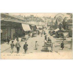 carte postale ancienne 03 VICHY. Le Marché 1904