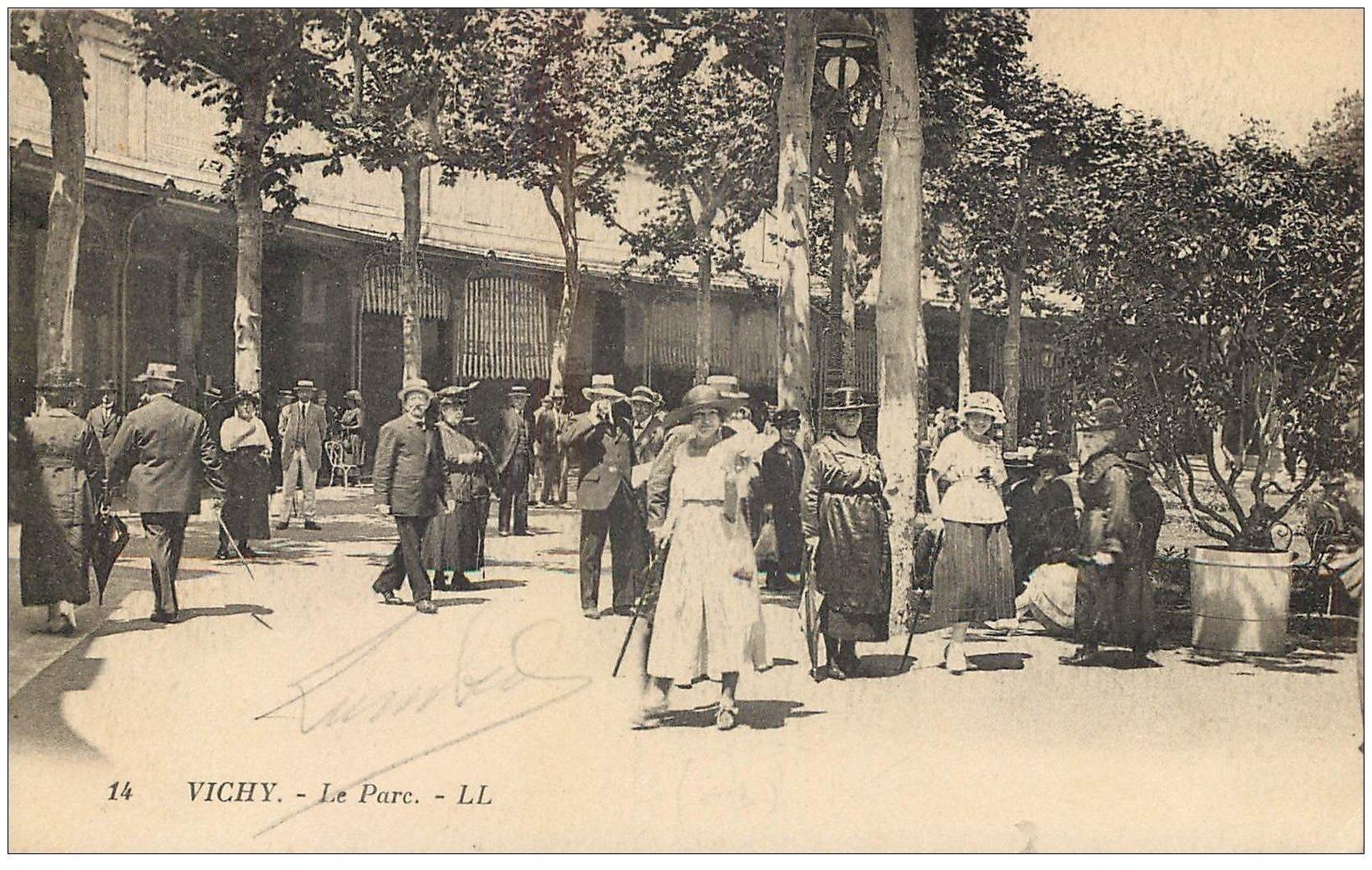 carte postale ancienne 03 VICHY. Le Parc