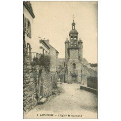 carte postale ancienne 29 AUDIERNE. Eglise Saint-Raymond