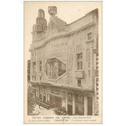 carte postale ancienne 03 VICHY. Le Petit Casino Rue Foch devenu Cinéma depuis. Théâtre Gai