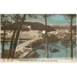 carte postale ancienne 29 AUDIERNE. Vue prise du Château de Loquéran
