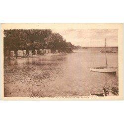 carte postale ancienne 29 BEG MEIL. Bord de Mer et Forêt