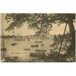 carte postale ancienne 29 BENODET. Le Port
