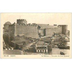 carte postale ancienne 29 BREST. Le Château 1939