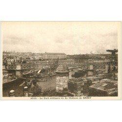 carte postale ancienne 29 BREST. Le Port Militaire 8310