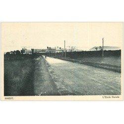 carte postale ancienne 29 BREST. L'Ecole Navale