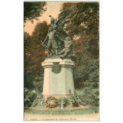 carte postale ancienne 29 BREST. Monument Défenseurs Bretons
