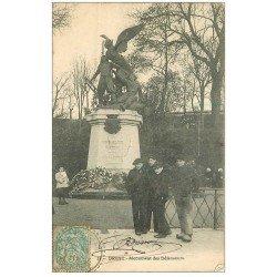 carte postale ancienne 29 BREST. Monument des Défenseurs 1905