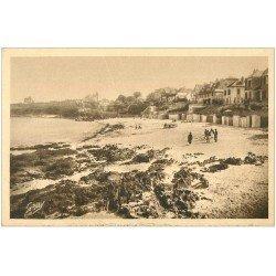 carte postale ancienne 29 CARANTEC. Grève Blanche 1931