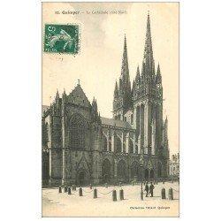 carte postale ancienne 29 QUIMPER. Cathédrale