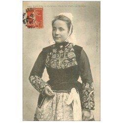 carte postale ancienne 29 QUIMPER. Coiffes 1909