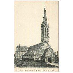 carte postale ancienne 29 QUIMPER. Eglise de Kerfeunteun