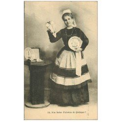 carte postale ancienne 29 QUIMPER. Faïences 1927