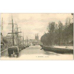 carte postale ancienne 29 QUIMPER. Le Port vers 1900