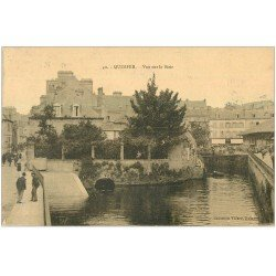 carte postale ancienne 29 QUIMPER. Le Steir 1923