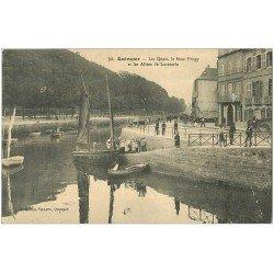 carte postale ancienne 29 QUIMPER. Quais et Allées de Locmaria