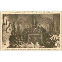 carte postale ancienne 29 QUIMPERLE. Culte Saint-Joseph. Verso blanc uni.