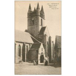 carte postale ancienne 29 QUIMPERLE. Eglise Saint-Michel