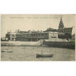 carte postale ancienne 29 ROSCOFF. Station biologique 1920