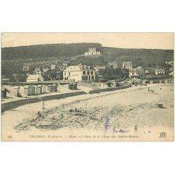 carte postale ancienne 29 TREBOUL. Hôtel et Villas