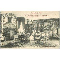 carte postale ancienne 31 BARBAZAN. Cheminée Salle du Château