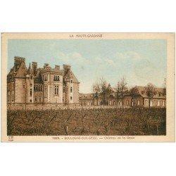 carte postale ancienne 31 BOULOGNE-SUR-GESSE. Château 1948