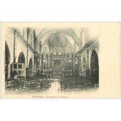 carte postale ancienne 31 CARBONNE. L'Eglise vers 1900