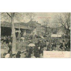 carte postale ancienne 31 CASTANET. Le Marché 1917