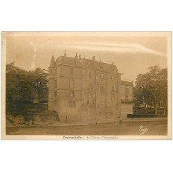 carte postale ancienne 31 CINTEGABELLE. Château d'Ampouillac 1937